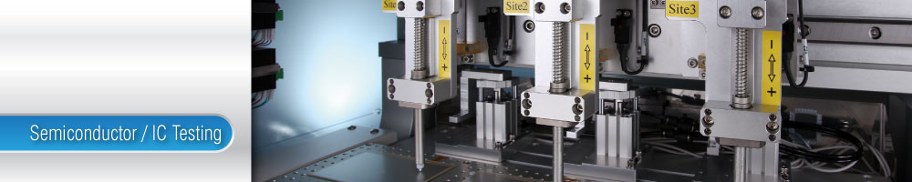 Semiconductor Test Equipment : Model final test handler chroma ate automated